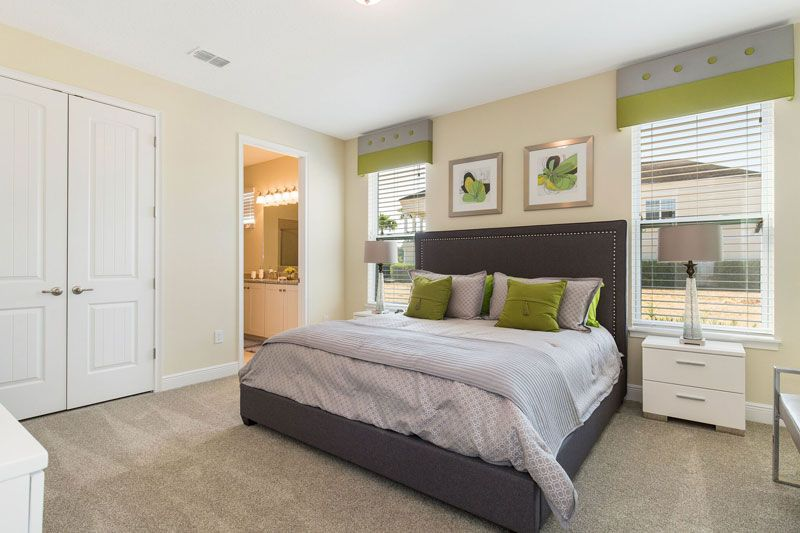 A Bedroon in a Townhome for sale in Orlando Florida