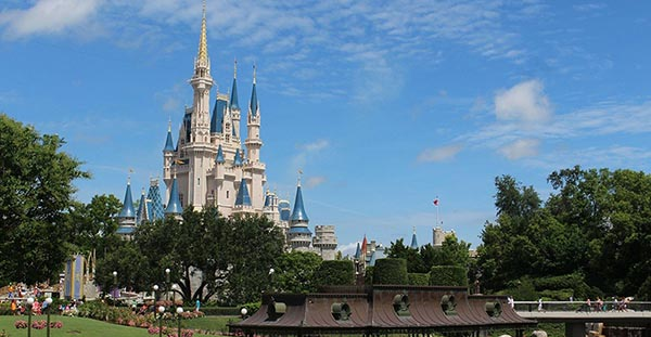 Picture of Disney Castle in orland Florida